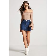 Forever21 Off-the-Shoulder Bell Sleeve Top ($18) via Polyvore featuring tops, long sleeve tops, off-shoulder crop tops, long bell sleeve tops, off-shoulder tops and sleeve top