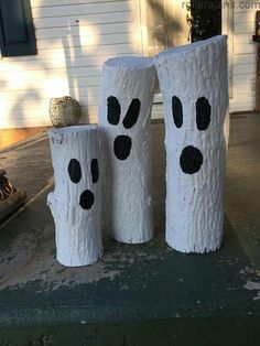 Ghost logs Simple Craft, offers simple prospects to deliver your personal merchandise ., Ghost logs Simple Craft, offers simple prospects to deliver your personal merchandise. The house describes the development of concepts and … Halloween Wood Crafts, Halloween Tags, Outdoor Halloween, Diy Halloween Decorations, Halloween House, Easy Halloween, Holidays Halloween, Fall Decorations, Fall Yard Decor