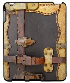 Shop STEAMPUNK LUGGAGE iPad Sleeve designed by implexity. Steampunk Design, Steampunk Diy, Steampunk Fashion, Steampunk Assassin, Steampunk Bedroom, Steampunk Couture, Steampunk House, Ipad 2 Cover, Tablet Cover
