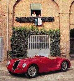"""1940 Alfa Romeo 6C 2500 SS Competizione """"Torpedino Brescia""""."""