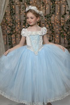 Snow Queen Ball Gown Princess Party Dress by EllaDynae on Etsy