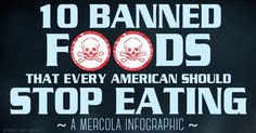 These 10 foods have been banned in various countries around the world, but not America. Regardless of regulation, you should never eat these 10 foods.