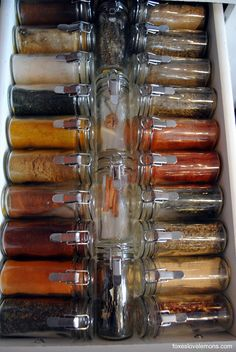 spice drawer essentials