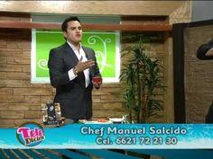 Sección de Cocina del programa Teledicion Televisa Hermosillo, Son.  Receta: Ensalada verde con sandia y mango  Al aire: 7/mayo/2012  chefmanuelsalcido@hotmail.com