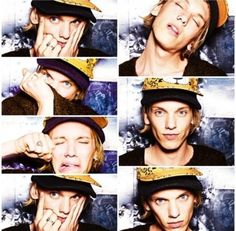 No words. Just Jamie Campbell Bower