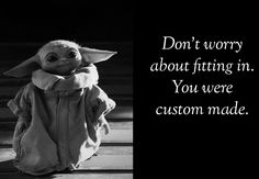 Yoda Meme, Yoda Funny, Funny Qotes, Star Wars Baby, I Love To Laugh, Cute Characters, E Cards, Funny Cartoons, Best Quotes