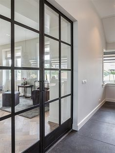 Staalkaart « Stalen producten en toepassingen van Simply Steel Door Design, House Design, Interior Styling, Interior Decorating, Glass Partition Wall, Steel Doors And Windows, Interior And Exterior, Interior Doors, Interior Design Living Room