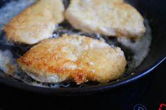 Parmesan  panerad kyckling