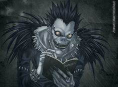 Shinigami: The Japanese Gods Of Death - (Japanese Mythology Explained) Shinigami, Death Note Anime, Death Note Fanart, Art Manga, Anime Manga, Anime Art, Death Note Cosplay, Death Note Light, L Death Note