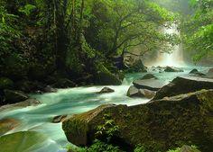 Rio Celeste Falls, Costa Rica