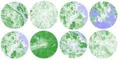 Satellite Images Ranks Europe's Greenest (and Not so Green) Cities