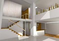 london loft apartments - nice stairs