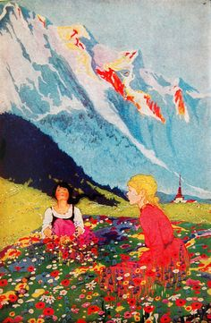 Lots of color~that's for me! Edna Cooke (American,1889-1975) Heidi