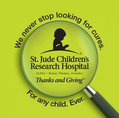 Jude Children's Research Hospital is the only pediatric cancer research center where families never pay for treatment not covered by insurance. Description from socialmediadelivered.com. I searched for this on bing.com/images