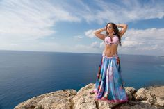 Beautiful belly dance costume by Natalia Kalinina