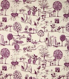 Quirky design. This contemporary fabric is made from 100% cotton. A great curtain fabric, also useful for blinds and cushions. Buy online or visit one of our fabric shops in Burford, Oxfordshire or Cheltenham, Gloucestershire - in the heart of the Cotswolds.