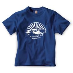 Camiseta P-36 Hawk azul navy http://www.miyakao.com/es/camisetas.html