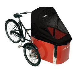 Family - a safe and light cargo bike for families