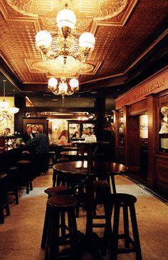 Heritage Bank, Banks Building, James Joyce, Pre And Post, Bar, Dark Wood, Calgary, Ireland, Irish