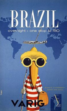 Varig Air Brazil  by A3 Design on Flickr.