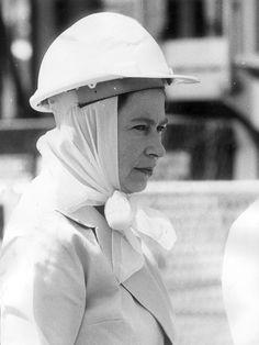 1970 Royal Tour. Queen Elizabeth during her tour of Mt Isa, Queensland.