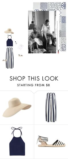 """Romy et Alain"" by all-star-72 ❤ liked on Polyvore featuring Eric Javits, Splendid, Forever 21, Soludos and Bobbi Brown Cosmetics"