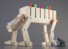 DIY Wooden Desk Organizer - Star Wars AT-AT theme | X-treme Geek