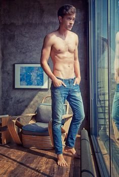 Francisco Lachowski for Mavi's FW 2014 via http://www.dailymalemodels.com