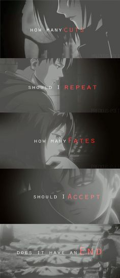 Discovered by on We Heart It. Levi Quotes, Manga Quotes, Book Quotes, Attack On Titan Fanart, Attack On Titan Levi, Otaku, Dont Touch My Phone Wallpapers, Eren And Mikasa, Anime Friendship