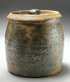 Covered Jar with Crackle Glaze | LACMA Collections
