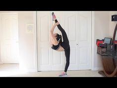 VERY HELPFUL needle/straight leg scorpion tutorial + my progress Gymnastics Flexibility, Stretches For Flexibility, Flexibility Workout, Stretching, Gymnastics Tricks, Gymnastics Workout, Scorpion Pose, Middle Splits, Standing Split