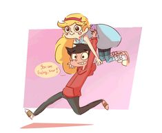 "spatziline: "" Mess-up twins having fun And no, he's running. """