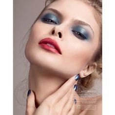 The New Colour Rules Harrods Magazine July 2013 Eyeshadow Lipstick via Polyvore