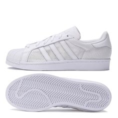 c26a836322431 adidas Superstar White Mesh Trainers - LeisurelyThreads