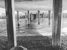 Support from underneath #underpass #underpasses #southpontobeach #pontobeach #carlsbad #sandiego #california #winter #pillars #concrete #aginggracefully #aging #concretejungle #exploration #exploring #pacificocean #rocks #rocky #symmetry #followme by anthonyderosa1