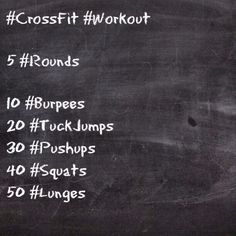 #CrossFit #Workout   Will be doing this!