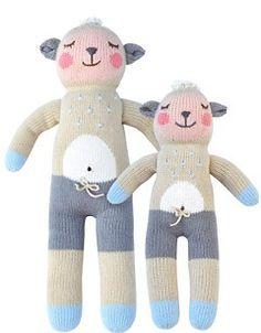 Wooly The Sheep- Bla Bla Kids Knit Dolls | www.celadonathome.com