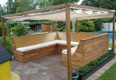 Eine super #Lounge -Idee von #SPAX! So könnt Ihr den #Sommer im #Garten genießen :)