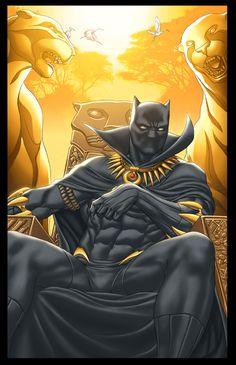 #Black #Panther #Fan #Art. (Fantastic Four 606 cvr) By: GURU-eFX. ÅWESOMENESS!!!™ ÅÅÅ+