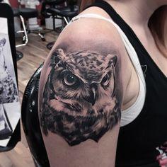 tatouage oiseau Fred Flores