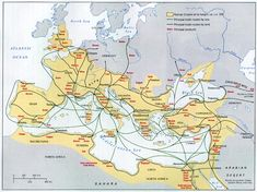 The trade routes connecting the Silk Road to Europe