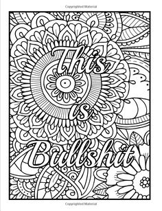 Amazon Calm The Fuck Down And Color An Adult Coloring Book With Pages