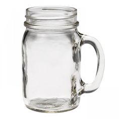 Ball Mason Jar drinking mug plain (16oz)