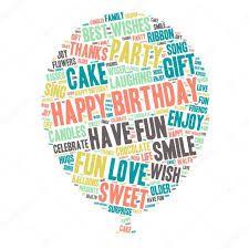 """Képtalálat a következőre: """"word art creatorBalaton"""" Celebration Balloons, Happy Birthday Celebration, Happy Birthday Love, Sing Cake, Party Songs, Love Wishes, Balloon Shapes, Party Gifts, Word Art"""