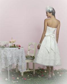 Cupcake Wedding Dress (Back) – Charlotte Balbier English Tea Party 2011 Collection