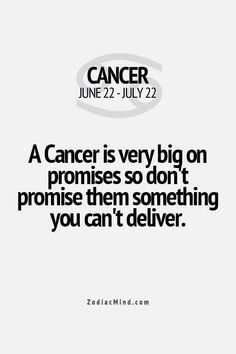 .... #cancer #ZodiacSigns