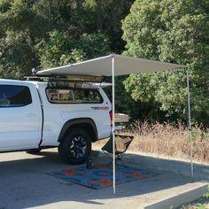 Outside pantry - DIY Truck Camper Plans