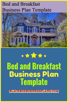 157 best business plan templates images on pinterest in 2018 bed and breakfast business plan template accmission Image collections