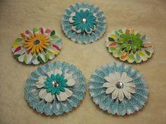 Paper Flower Rosettes