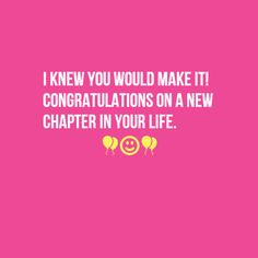Congrats on the new job celebrate pinterest beautiful so proud of you chelsea like i said to you last week who new job wishescongratulations thecheapjerseys Image collections
